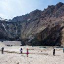 Ученые обнаружили озеро в Активной воронке Мутновского вулкана на Камчатке