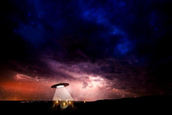 Житель Нижнего Тагила заметил НЛО, несущий погибель всему живому