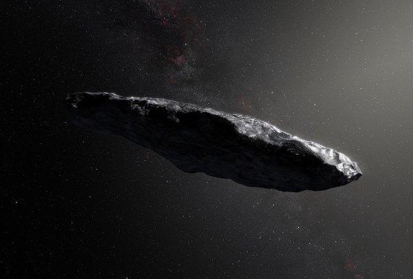 Ученые: Астероид Оумуамуа внезапно развил огромную скорость