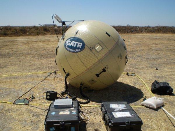 Изобретатель из Челябинска создал надувную спутниковую антенну