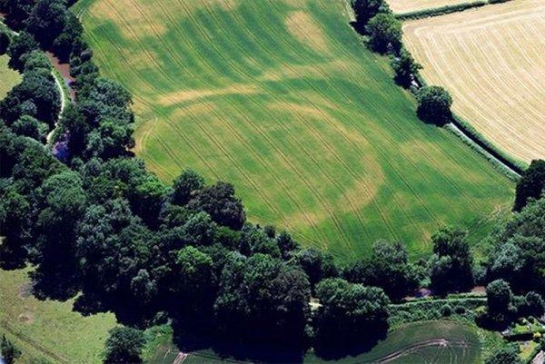 На полях фермеров Великобритании проявились инопланетные знаки