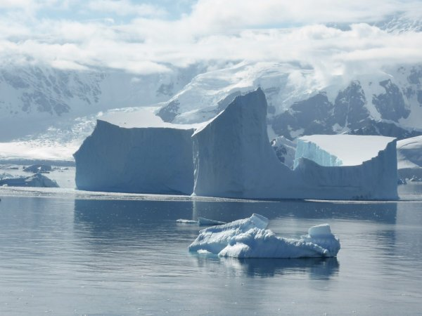 В тысячелетних льдах Антарктики нашли живой источник метана