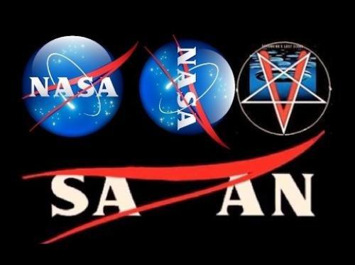«Ложь, сатана и дьявол»: Ученые обнаружили масонский знак в логотипе NASA
