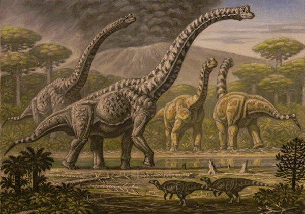 В США нашли кости динозавра-«бигфута» с самой крупной стопой