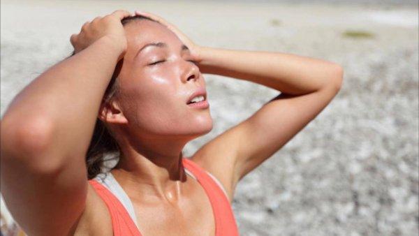 Медики назвали признаки теплового удара