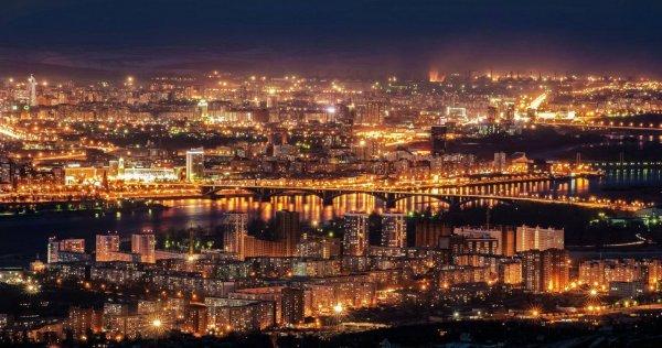 Ученые создали карту тепловых аномалий Красноярска