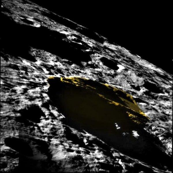 На Луне нашли огромный НЛО в форме треугольника