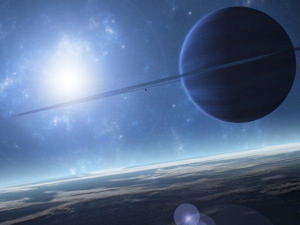 Астрономы нашли раскаленную планету с небом из железа