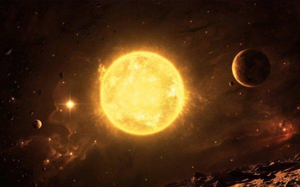 Синие кристаллы метеоритов поведали о бурной молодости Солнца
