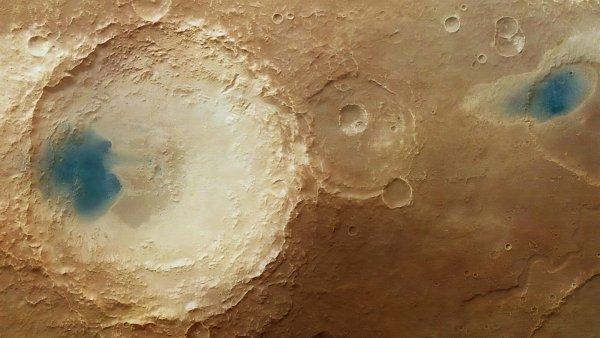 Солёное озеро доказывает наличие жизни на Марсе — учёный