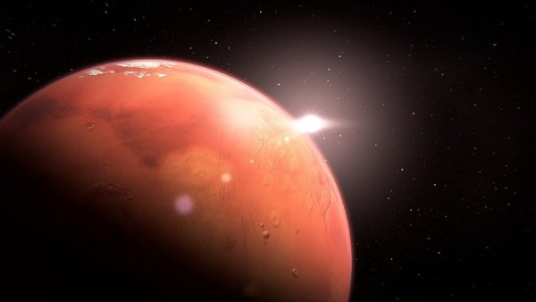 Уфолог заметил артефакты, свидетельствующие о наличии пришельцев на Марсе