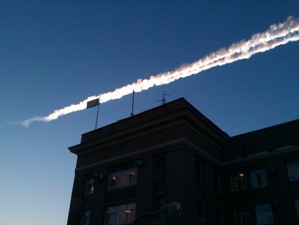 В Свердловской области астроном запечатлел на видео взрыв метеора