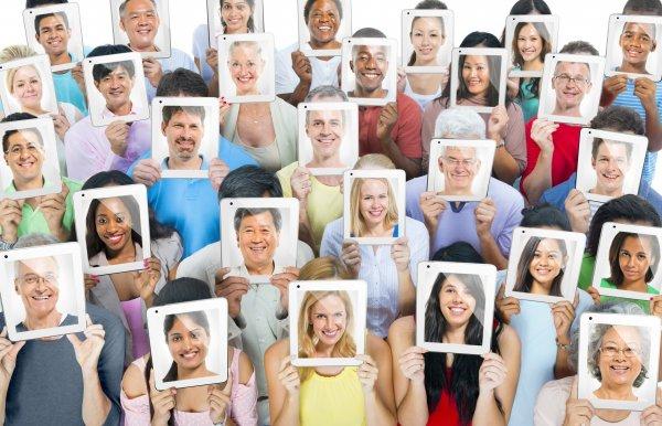 Ученые: Люди могут распознавать около пяти тысяч лиц