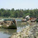 Сотни ценных артефактов нашли на кладбище затонувших кораблей