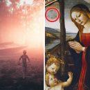 На средневековой картине заметили изображение НЛО и пришельцев