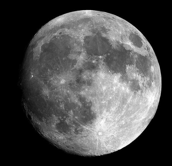 Уфологи нашли на луне загадочное строение инопланетян