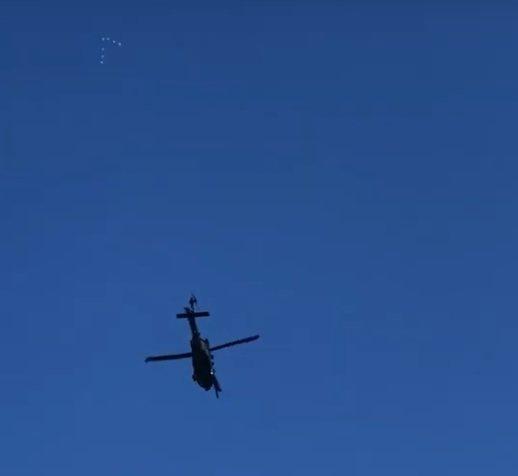 Инопланетяне следили за военными в Лос-Анджелесе