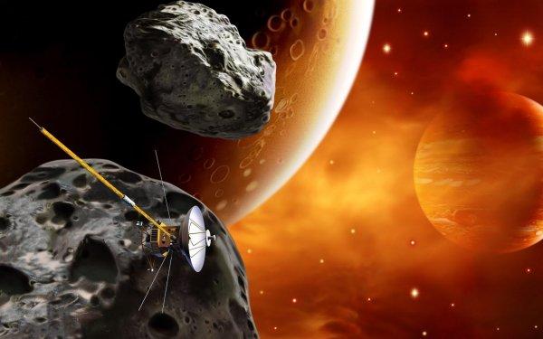 «Последний День Влюблённых»: Два астероида, угрожающие Земле, попали на видео