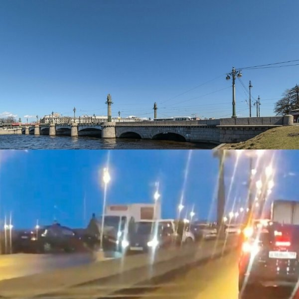 Нибиру вернулась? За день до катаклизмов в Петербурге жители увидели послание в небе