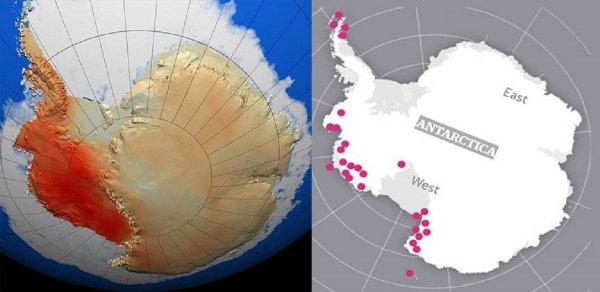 Всемирный потоп начался из Антарктиды: Нибиру использует термическое оружие для таяния льда