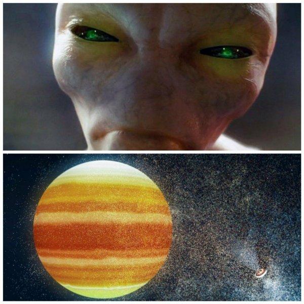 «Голова 1,5 метра»: На Марсе найдена скульптура инопланетянина-гиганта - уфолог