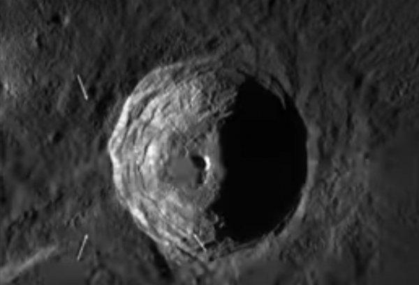 NASA скрывает правду: Уфолог нашёл в кратере Луны «купольную» базу инопланетян