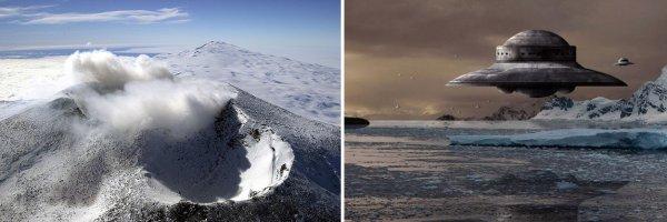 Непоправимый ущерб Земле: Подземный вулкан в Антарктиде может активизироваться из-за пришельцев