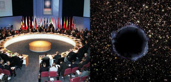 Всеобщая паника: Учёные со всей Земли созывают советы из-за расширяющейся чёрной дыры