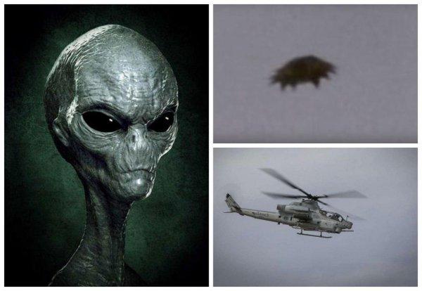«Пришельцы сбили военный вертолёт»: Атаку Нибиру на секретную базу США засняли на камеру – уфологи
