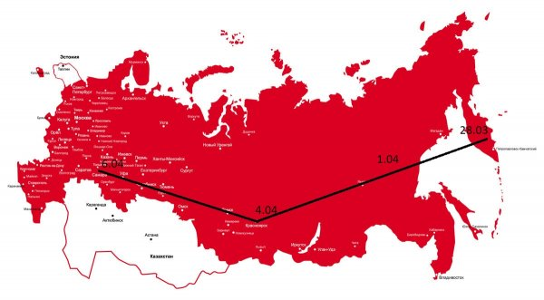 Составлена карта России, где «нибируанский Танос» может уничтожить половину населения — уфолог