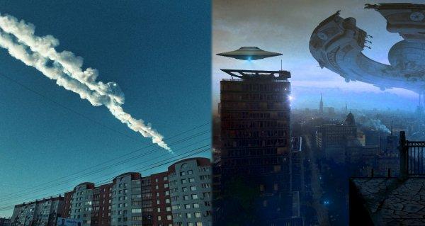 Земля сгорит до прилёта Нибиру: Корабли пришельцев под видом метеоритов начали массово приземляться в России