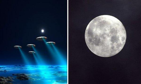 Уфолог: Луна это база инопланетян