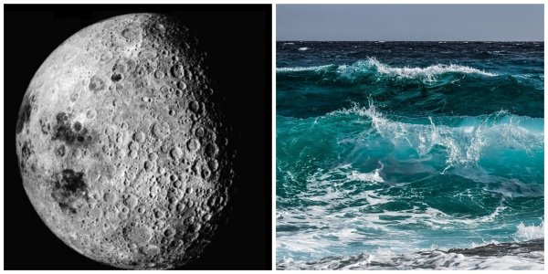 На Луне есть вода: метеориты выбивают из спутника Земли до 200 тонн влаги