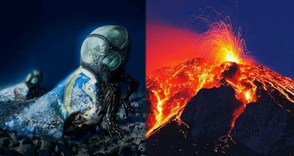 Прячутся под водой: Пришельцы с Нибиру продолжают разрушать тектонические плиты Земли ради извержения вулканов