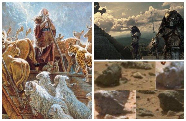 На Марсе нашли доказательство «библейского потопа» — Руины древнего города запечатлены на снимках NASA