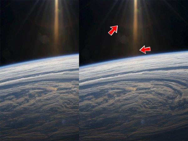 Маршрут построен: В NASA случайно засняли портал с Нибиру на Землю