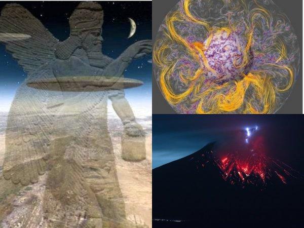 Нибиру «рвет» магнитное поле: Как «драконам-убийцам» удалось активировать вулканы?