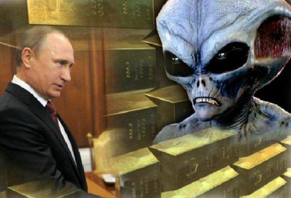 Путин выплатит Нибиру дань на День России — Контейнер для российского золота прилетит 12 июня