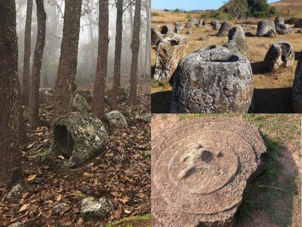 В Лаосе обнаружили странное кладбище  — «Кувшины великанов» оказались погребальными урнами