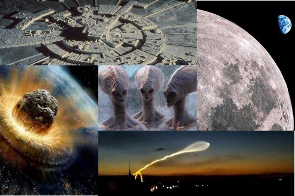 На Луне найден инопланетный город — Пришельцы готовятся напасть на Землю 9 июня