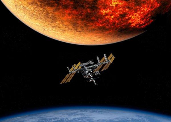 Избежать столкновения с Нибиру: МКС меняет траекторию полёта на 4.5 км — уфолог