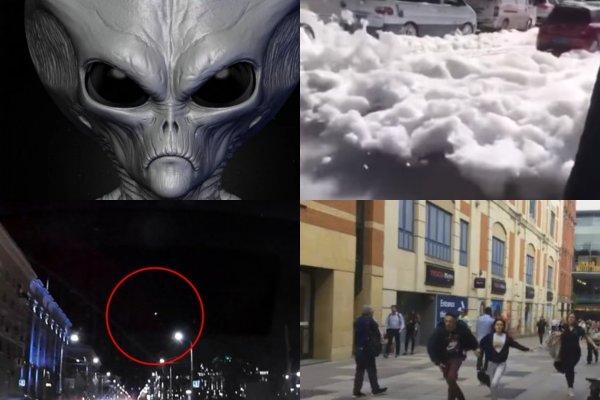 Инопланетная пена заполняет города - Пришельцы отвлекли человечество от своего прибытия