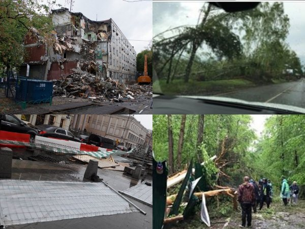 Столица содрогнется от разгула стихии — На Москву идет штормовой Апокалипсис
