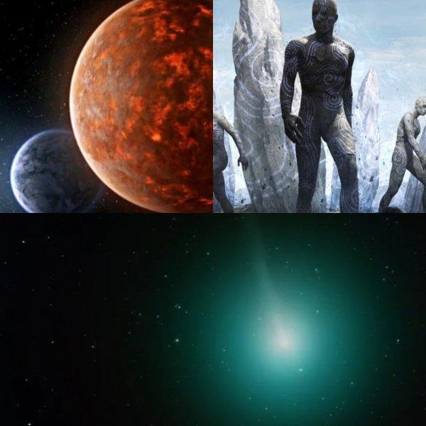 Гибрид двух миров: Пришельцы создают копию Нибиру с земной водой