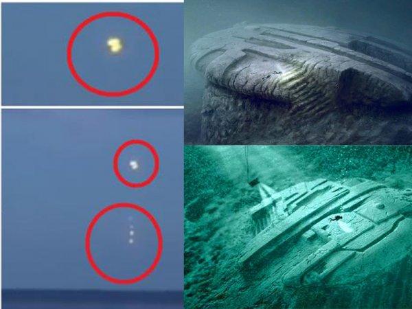 Бриллиантовые НЛО высадились в Балтийское море: Пришельцы добывают редкий металл на подводной базе