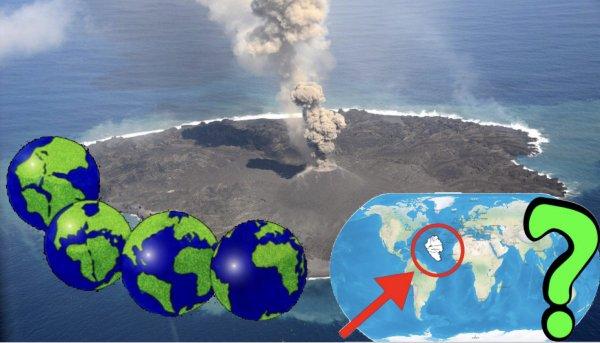 Земля вздувается. Старые материки Атлантического океана поднимаются из-под воды?