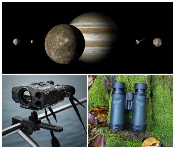Рекордное приближение Юпитера к Земле позволит увидеть его луны даже с помощью бинокля
