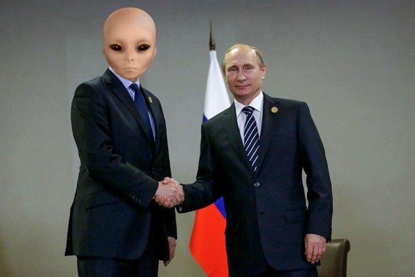 Заговор межпланетного масштаба: Связи Путина с пришельцами подтвердились