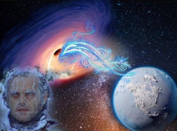 Осталось 7 дней: Обнаруженное кольцо вокруг чёрной дыры приведет к новому Ледниковому периоду