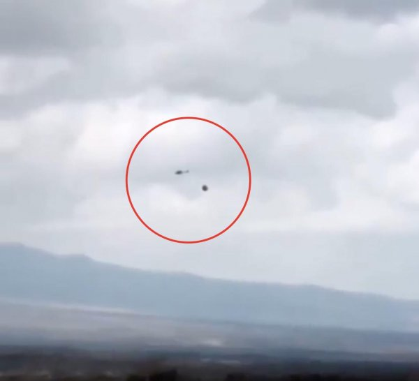 Пришелец троллит американцев? Вертолёт ВВС США спасался бегством от «разъярённого» НЛО